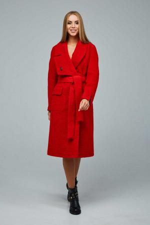 Женское пальто «Болэнд» красного цвета