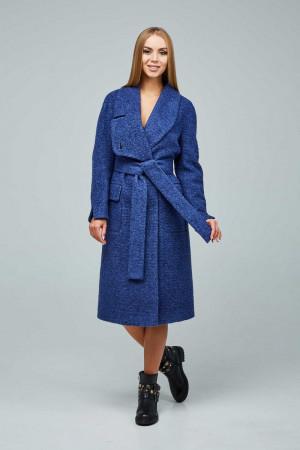 Жіноче пальто «Боленд» синього кольору