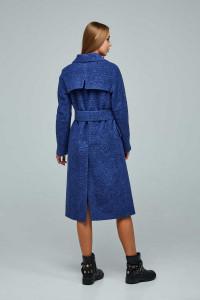 Женское пальто «Болэнд» синего цвета