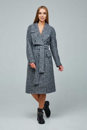 Женское пальто «Болэнд» серого цвета