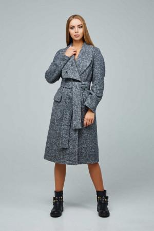 Жіноче пальто «Боленд» сірого кольору