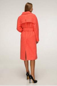Женское пальто «Болэнд» кораллового цвета