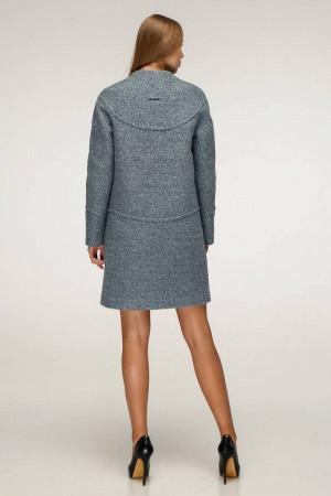 Жіноче пальто «Букке» сіро-блакитного кольору