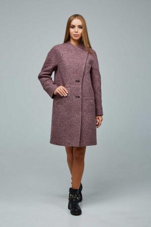 Жіноче пальто «Букке» цегляного кольору