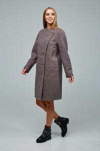 Жіноче пальто «Букке» бежевого кольору