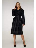 Жіноче пальто «Хелсі» темно-синього кольору