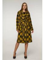 Жіноче пальто «Хелсі» жовтого кольору
