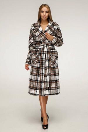Женское пальто «Хэлси» бежевого цвета