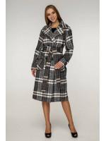 Жіноче пальто «Хелсі» кавового кольору