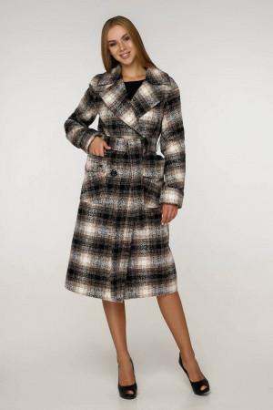 Жіноче пальто «Хелсі» коричневого кольору
