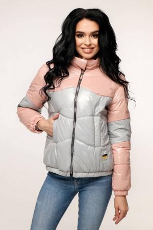 Куртка жіноча «Геббі» світло-рожевого кольору
