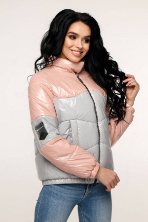Куртка женская «Гэбби» светло-розового цвета