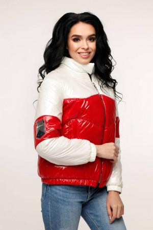 Куртка жіноча «Геббі» білого кольору