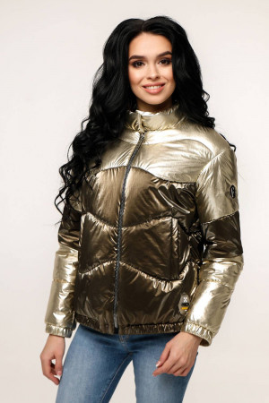 Куртка жіноча «Геббі» жовто-коричневого кольору