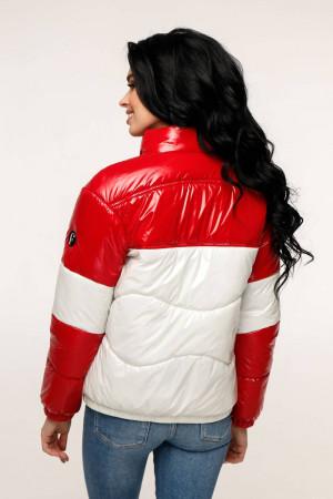 Куртка женская «Гэбби» красного цвета