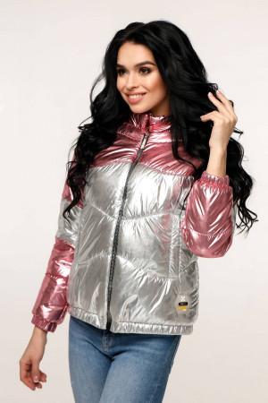 Куртка женская «Гэбби» розового цвета