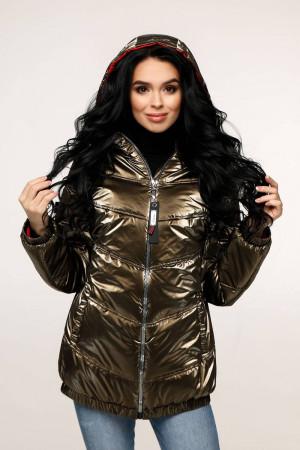 Куртка женская «Витори» цвета темного хаки