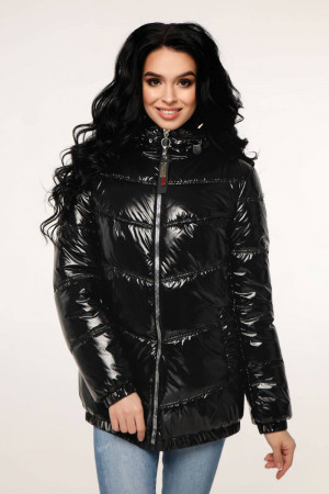 Куртка женская «Витори» черного цвета