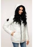 Куртка жіноча «Віторі» білого кольору 50 розмір