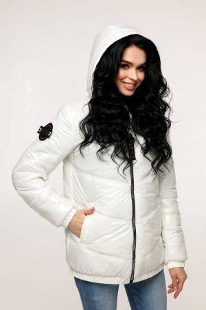 Куртка женская «Витори» белого цвета