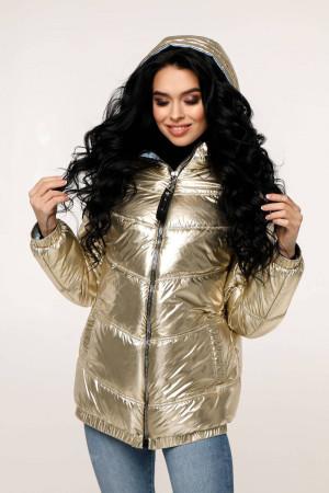 Куртка жіноча «Віторі» блідо-золотавого кольору