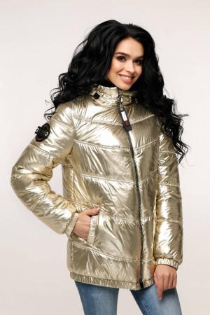 Куртка женская «Витори» бледно-золотистого цвета