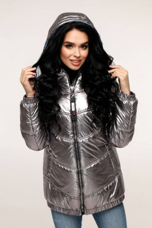 Куртка жіноча «Віторі» темно-сірого кольору