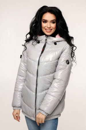 Куртка жіноча «Віторі» тьмяно-сірого кольору