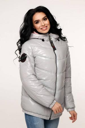 Куртка женская «Витори» тускло-серого цвета