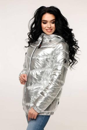 Куртка женская «Витори» серебристого цвета