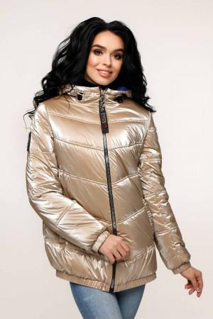 Куртка жіноча «Віторі» кремово-бежевого кольору