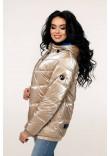 Куртка жіноча «Віторі» кремово-бежевого кольору 46 розмір
