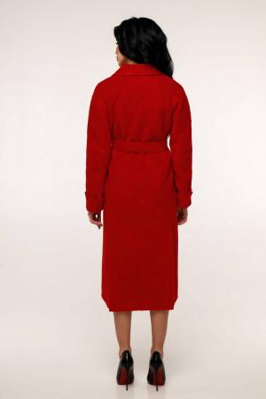 Женское пальто «Палома» красного цвета