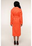 Жіноче пальто «Палома» коралового кольору 46, 54 розмір
