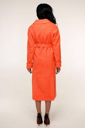 Женское пальто «Палома» кораллового цвета