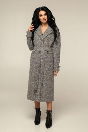 Жіноче пальто «Палома» сірого кольору