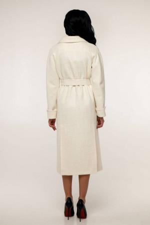 Жіноче пальто «Палома» білого кольору