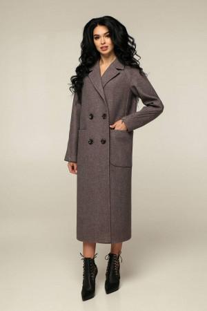Жіноче пальто «Босх» кавового кольору