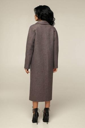 Женское пальто «Босх» кофейного цвета