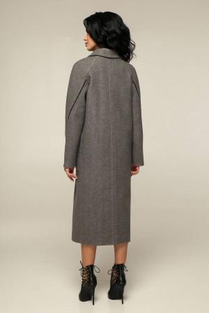 Женское пальто «Босх» темно-оливкового цвета