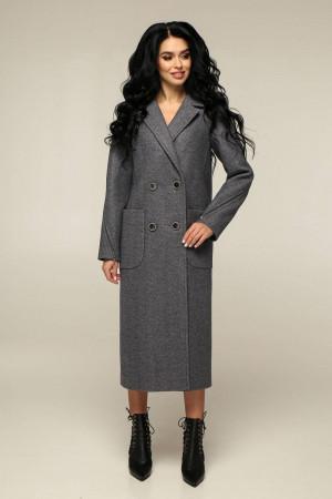 Женское пальто «Босх» серого цвета