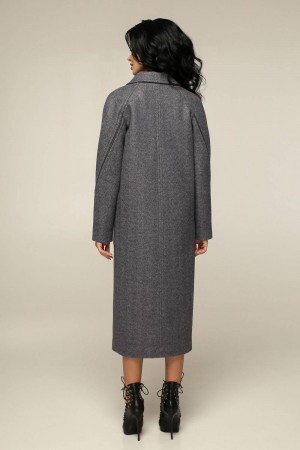 Жіноче пальто «Босх» сірого кольору