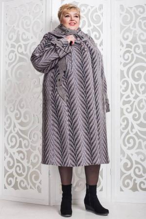 Зимове пальто «Вуді» сіро-блакитного кольору