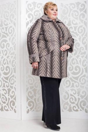 Жіноче пальто «Дасті» бежевого кольору