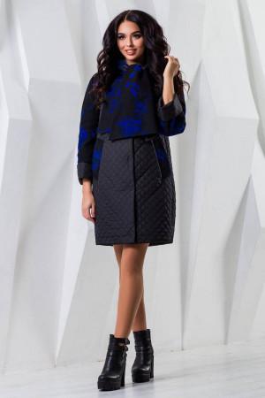 Жіноче пальто «Сольвей» чорного кольору