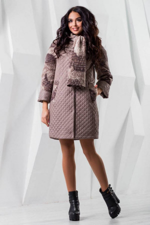 Жіноче пальто «Сольвей» світло-бежевого кольору