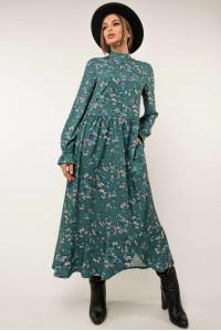 Сукня «Флорет» кольору бриз