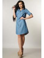 Сукня «Тейлі» синя з декором