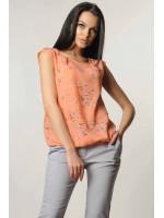 Блуза «Кітті» персикового кольору