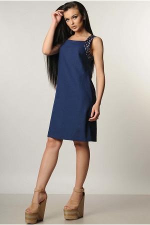 Сукня «Джафа» темно-синя